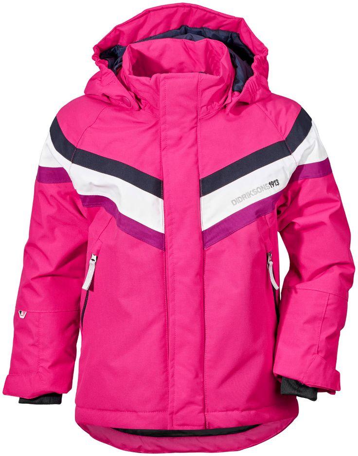 Didriksons Safsen Kids Ski Jacket - Fuchsia