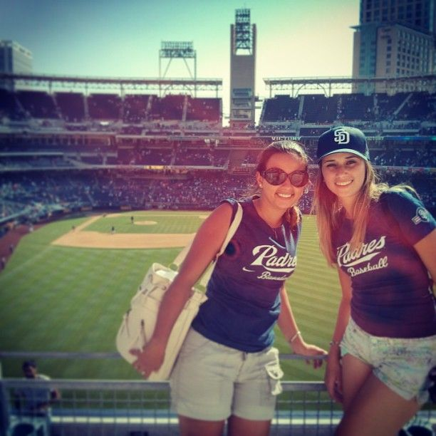 ALI students at #Padres baseballl game