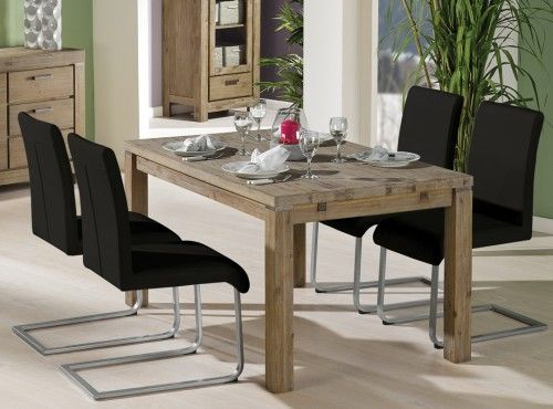 VERONA Table + 4 MOVE Dining Chairs | Dining Set