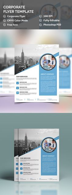 Get an attractive trifold or bifold flyer design. skype: qketing