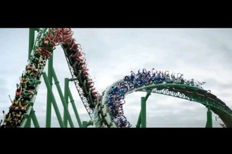Video: Great new Carlsberg ad features Robbie Fowler and Chris Kamara on a rollercoaster