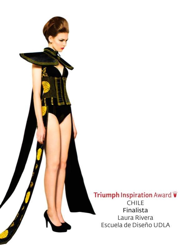 Vestido concurso Triumph 2012