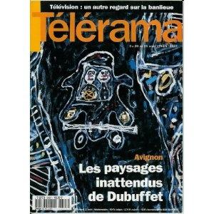Télérama - n°2327 - 17/08/1994 - Avignon : Les paysages inattendus de Dubuffet  [magazine mis en vente par Presse-Mémoire]
