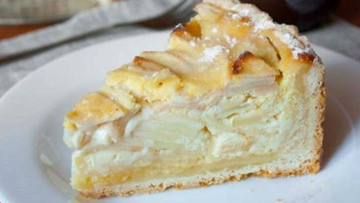 Легендарный Цветаевский яблочный пирог