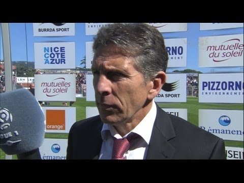 FOOTBALL -  Interview de fin de match : OGC Nice - FC Sochaux-Montbéliard (3-0 - http://lefootball.fr/interview-de-fin-de-match-ogc-nice-fc-sochaux-montbeliard-3-0/