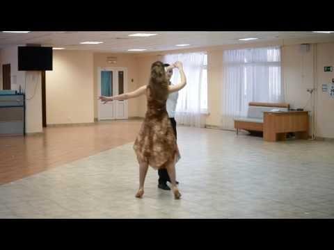 Большой фигурный вальс. Схема танца - YouTube