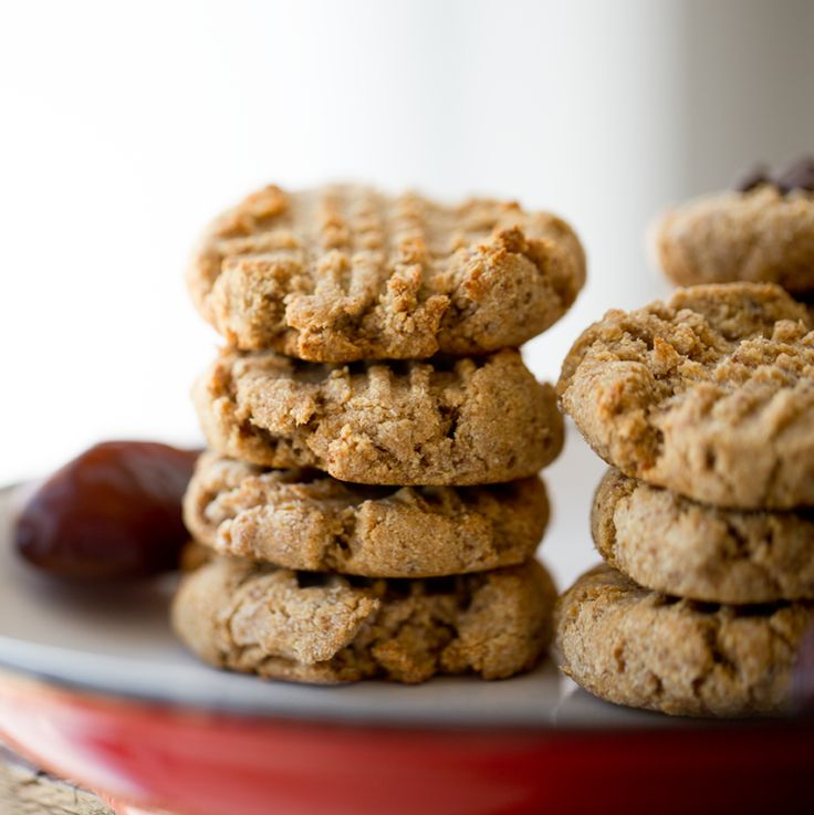 3-Ingredient Vegan Peanut Butter Cookies. (Plus a Free E-book + Giveaway!)