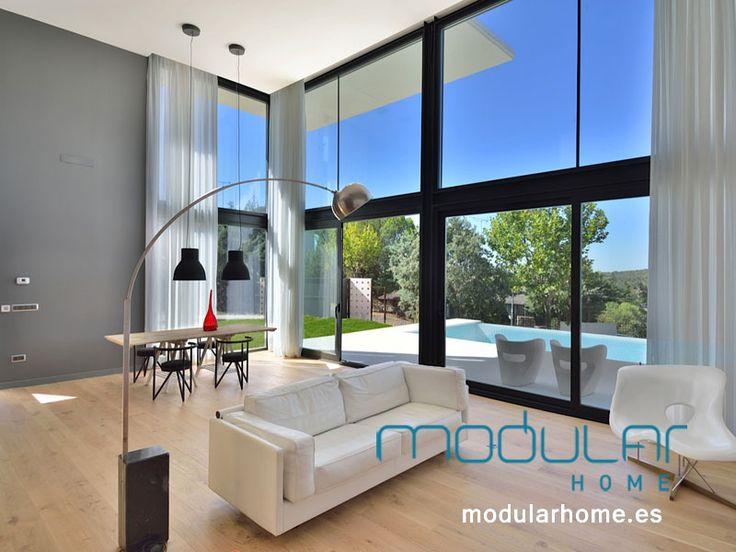 Mejores 16 im genes de casas prefabricadas en pinterest - Casas modulares madrid ...