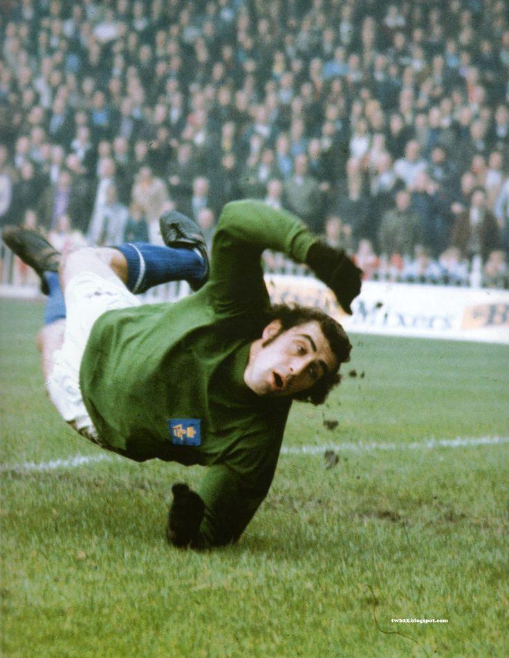 Peter Shilton mid dive