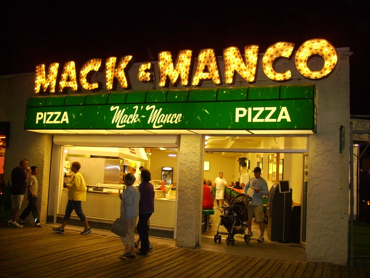 The best pizza on the boardwalk, in Ocean City, NJ.  (in my opinion) - Photo by Jenn Lofink