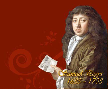 Samuel Pepys - Studied at Magdalene College, Cambridge