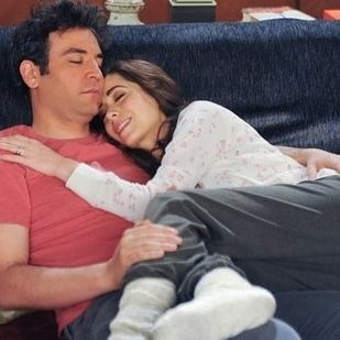 """When Ted has the life he always wanted with Tracy. 