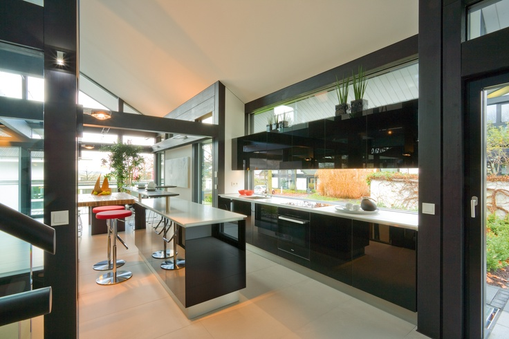 Huf haus prefabs pinterest evolution haus and green for Haus kitchens