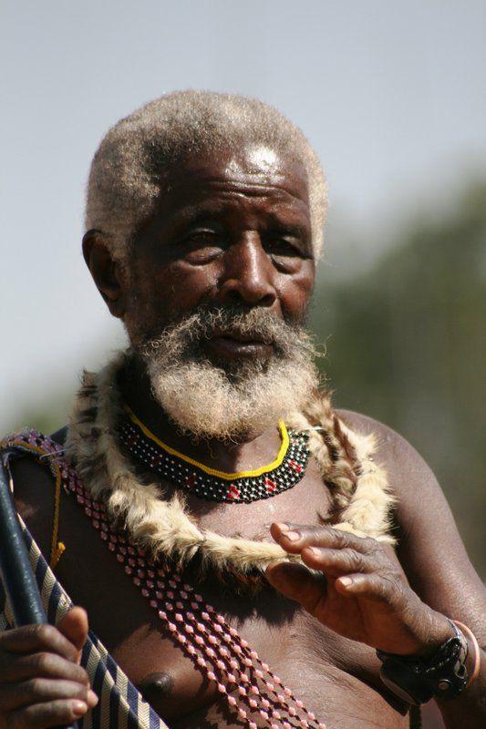 Zulu Chief in Swaziland