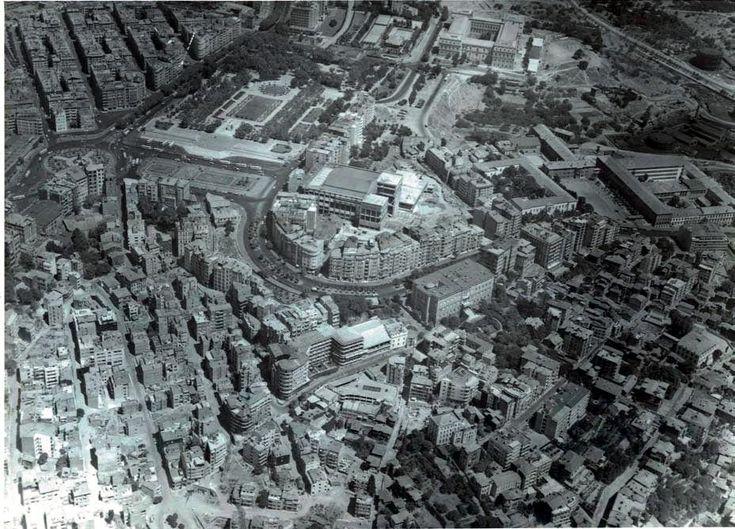 Taksim 1960s - Gümüşsuyu caddesi, Park Otel, Elmadağ, Cumhuriyet caddesi...