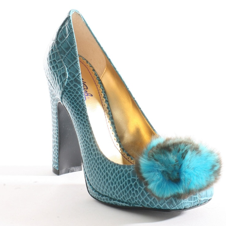 Blue shoe loving