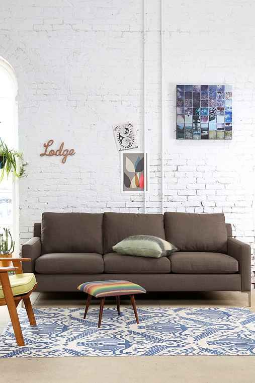 Chelsea Sofa 599 99 Was 998 00 100 Off Curved Metal Legs Not Futon