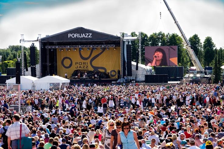 Pori Jazz Festival, Finland. Had the best three days here!