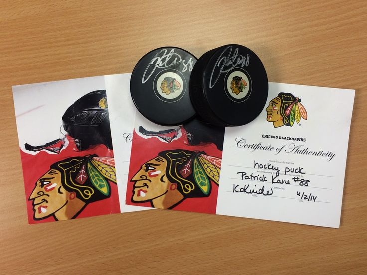 Winners of the Patrick Kane signed puck giveaway were announced last night, just before the Chicago Blackhawks Stanley Cup Win! #OneGoal3 http://ow.ly/Onfz8 #sports #nhl #hockey #becauseitsthecup #fans #onegoal3 #chicago #blackhawks #hawkswin #stanleycup #88 #patrick #kane