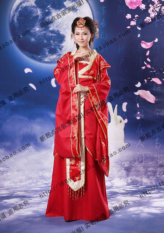 Костюм танец одежды костюм hanfu красный куклы костюм феи фото обслуживание тан костюм