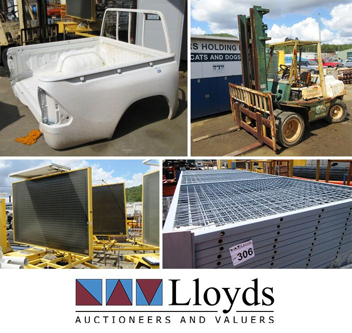 VMS boards, PVC sewage pipes, ute trays, forklifts and a range of other building and contruction equipment in the Equipment, Steel & Machinery Clearance Auction!   📍 Yatala, QLD - https://www.lloydsonline.com.au/AuctionLots.aspx?smode=0&aid=7802&utm_content=bufferfaf44&utm_medium=social&utm_source=pinterest.com&utm_campaign=buffer