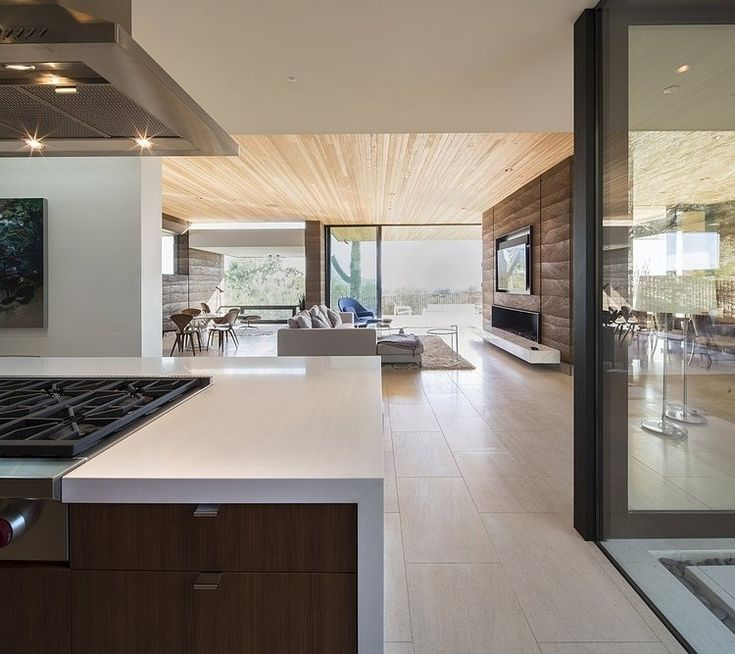 Modern Hillside Homes rammed earth housebrent kendle: this modern single story