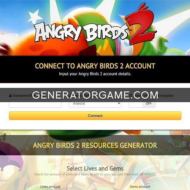 LETS GO TO ANGRY BIRDS 2 GENERATOR SITE!  [NEW] ANGRY BIRDS 2 HACK ONLINE 2016 WORKING: www.online.generatorgame.com Add Free up to 999999 amount of Lives and Gems: www.online.generatorgame.com No more Lies Guys! This Method 100% Works: www.online.generatorgame.com Please SHARE this real hack online guys: www.online.generatorgame.com  HOW TO USE: 1. Go to >>> www.online.generatorgame.com and choose Angry Birds 2 image (you will be redirect to Angry Birds 2 Generator site) 2. Input your Angry…