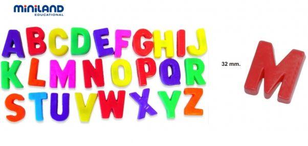 Letras Magnéticas Mayúsculas 62 pcs 8,90 E