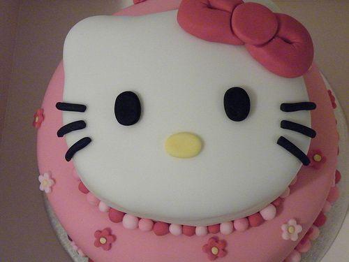 Hello kitty cake stacked | Flickr - Photo Sharing!