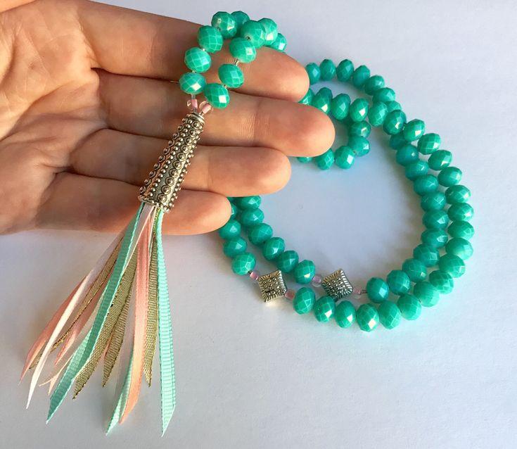 Islamic Prayer Beads - Muslim Gifts - Muslim Shop - Eid Gifts - Ramadan - Gift Ideas - Tasbih - Green Tasbeeh - Misbaha - Seb7a - Subha - Sibha