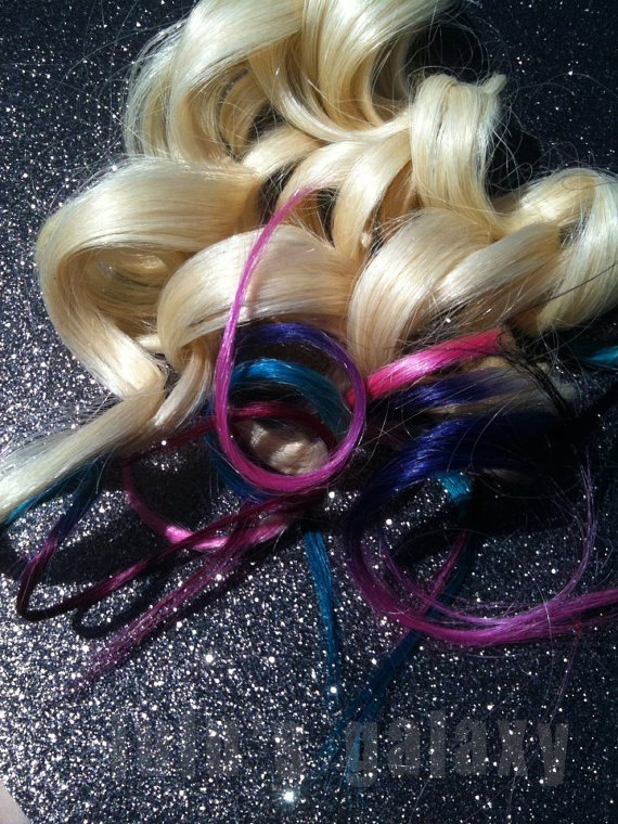 114 best hair pieces images on pinterest hairstyles hair and c o t t o n candy pink and blue ombre dip dye duo colored pastel free people pmusecretfo Images