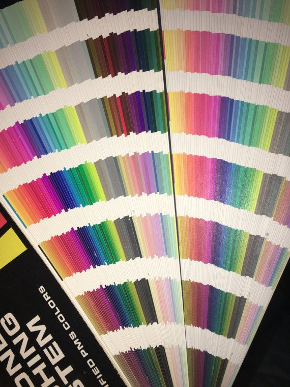 Pantone matching system for certified PMS colors vintage paint by Sactownpickers  #Pantone #matching #PMScolors #vintage #paint