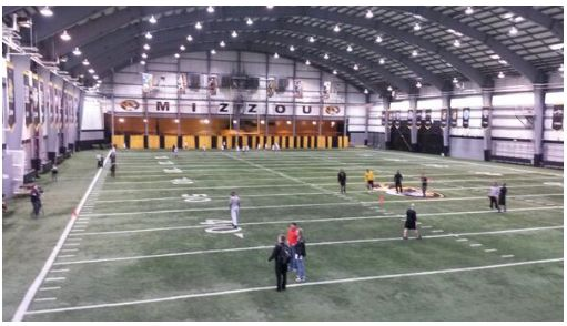 Mizzou incredible indoor football facility. RollTideWarEagle.com sports stories that inform and entertain, plus #collegefootball rules tutorial. Check out our blog and let us know what you think. #Mizzou
