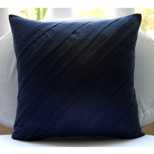 Handmade Navy Blue Accent Pillows, Contemporary Pillow Co... https://www.amazon.com/dp/B00D0RENK8/ref=cm_sw_r_pi_dp_x_ASuqybX93Q0YV