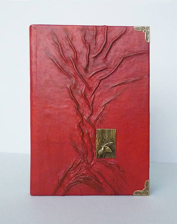 Red Journal Gift for Women Leather Diary Writing Journal