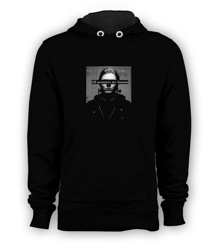 All Monsters are Human Asylum II AHS Pullover Hoodie Men Sweatshirts All Size #Hanes #Hoodie