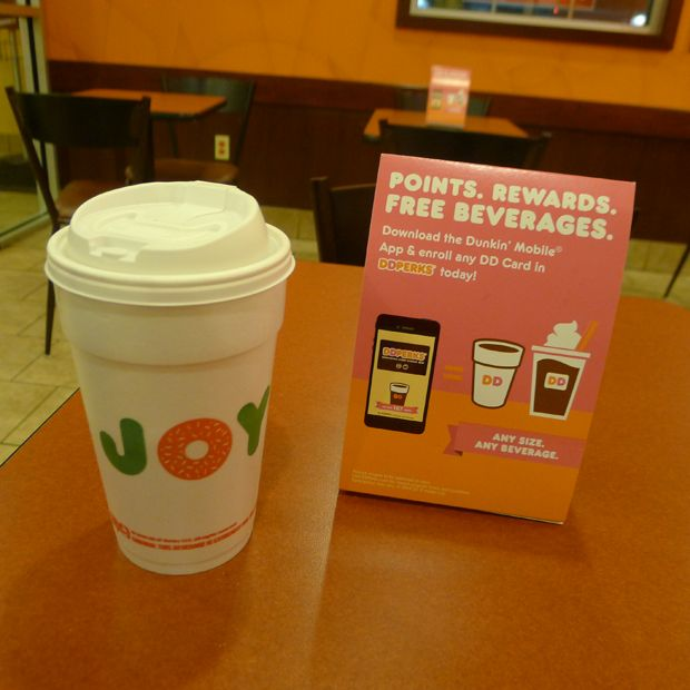Get $5 FREE Dunkin' Donuts with DD Perks Rewards Program for Coffee, Donuts, or anything you'd like! #DDPerks #MC #DDPerks sponsored