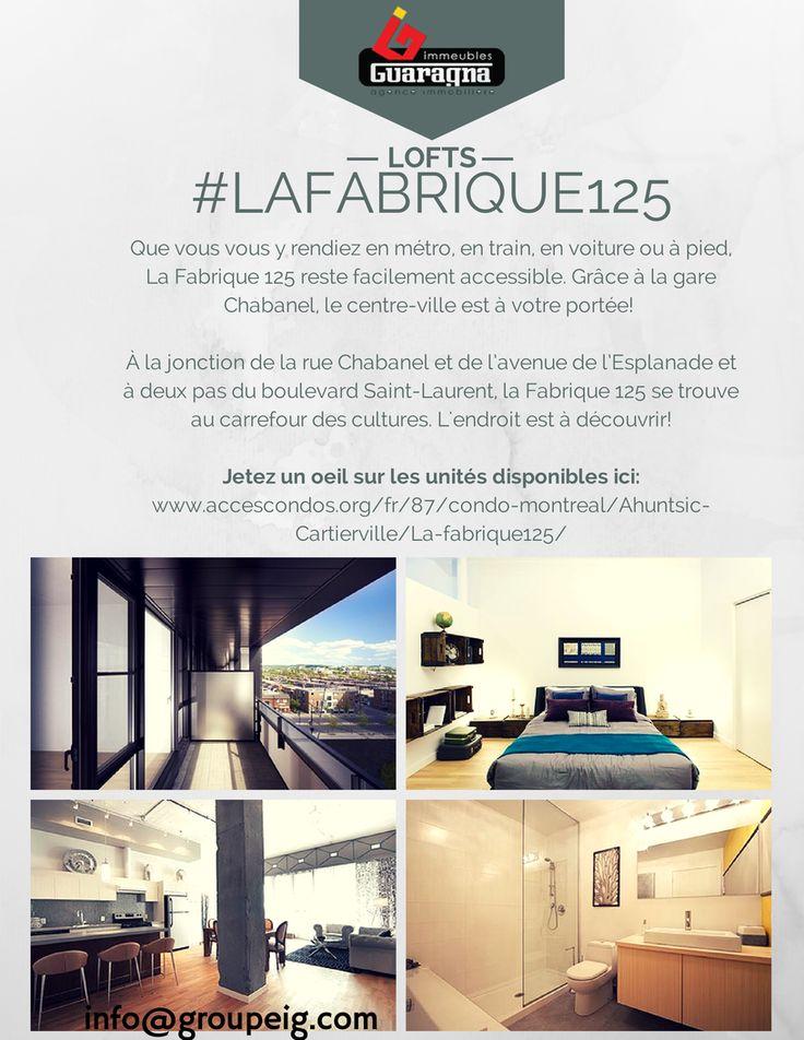 La vie à #LaFabrique125 vous tente? De nombreuses très belles unités sont encore en vente!  Découvrez les plans d'unités disponibles ici ! >> http://ow.ly/Air6n