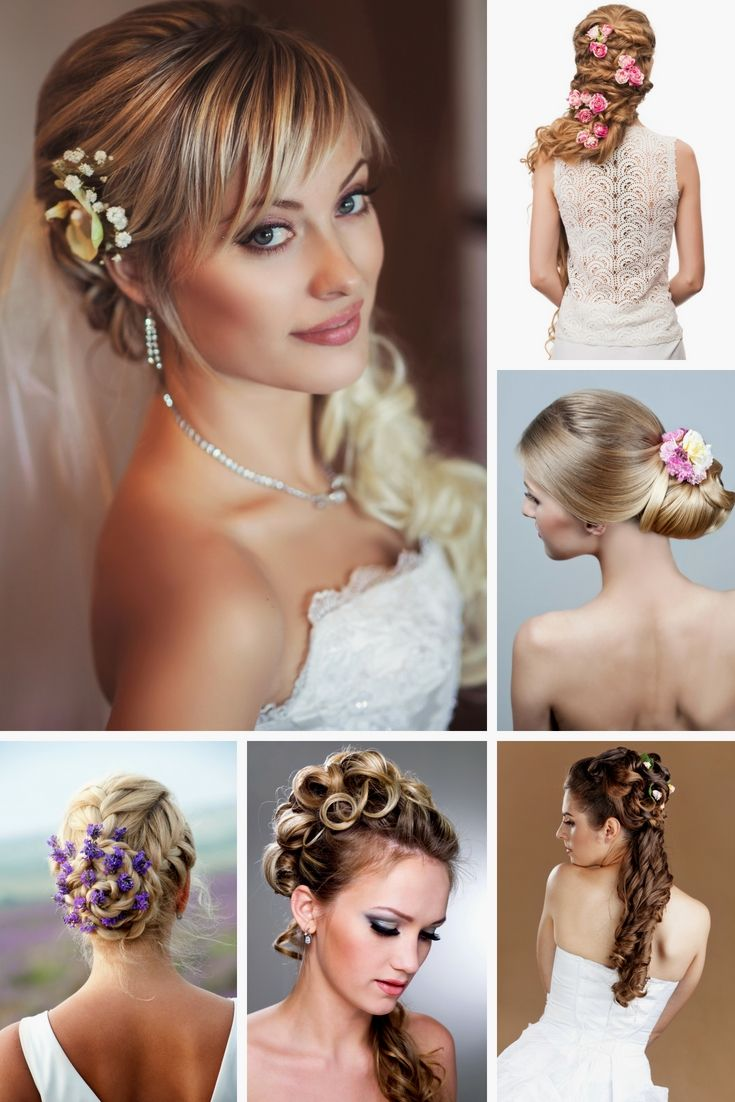 wedding hair innovations - greatest wedding hairdos for this