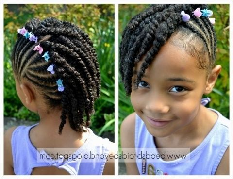 Cute Braid Hairstyles For Little Girls HD Images