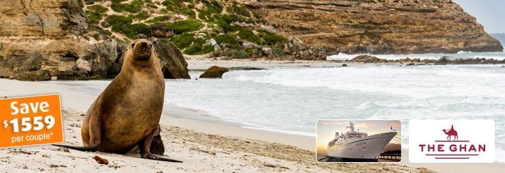 Ghan Darwin to Adelaide with Astor Kangaroo Island Cruise