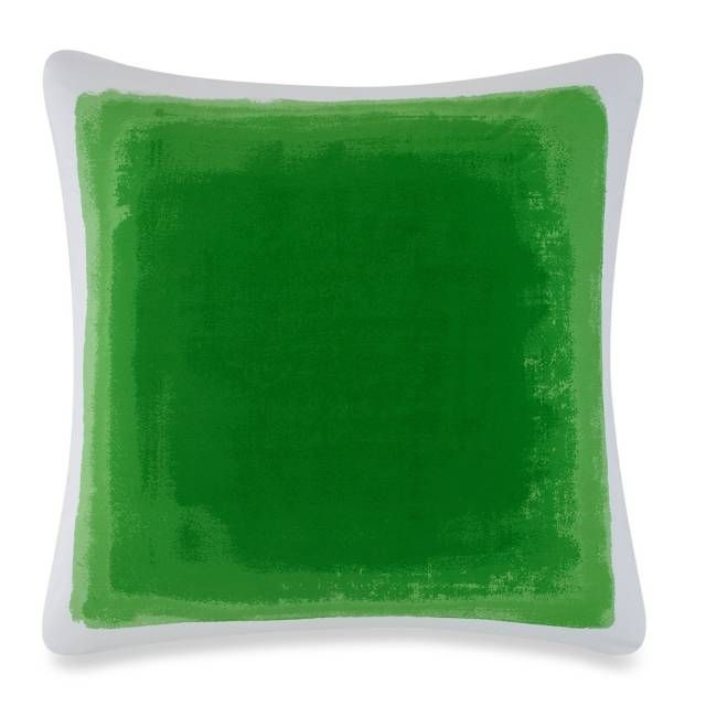 product image for kate spade new york Watercolor European Pillow Sham in Green