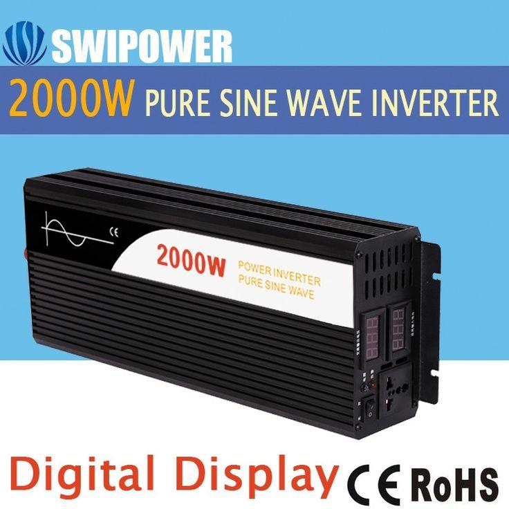 190$ Know more - 2000W <b>pure sine</b> wave solar power inverter DC ...