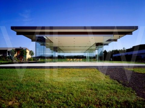 Glass Pavilion Rheinbach Germany Architecture Glass