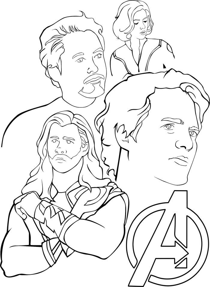 Avengers Free Coloring Pages Avengers Coloring Avengers Coloring Pages Superhero Coloring Pages