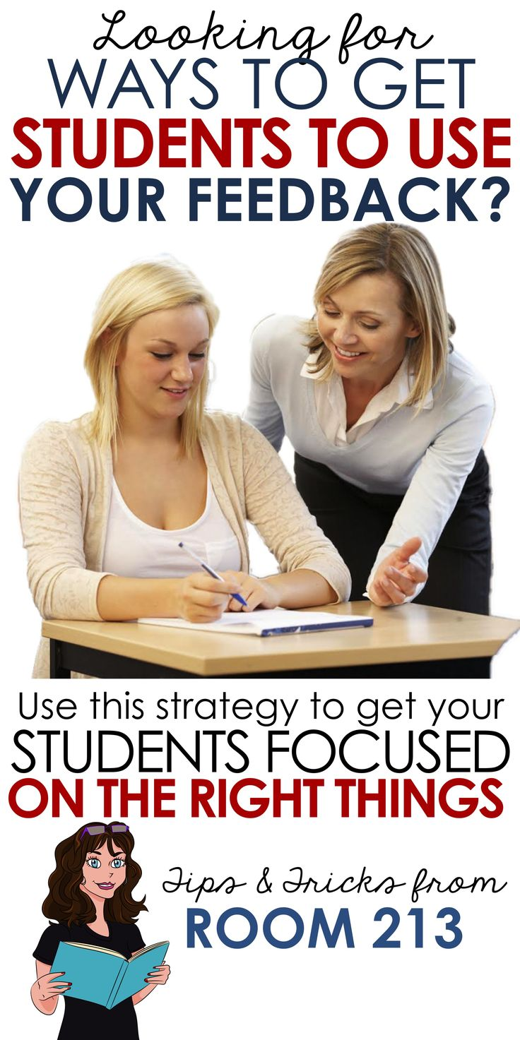 Help your students use the feedback you give them. Check out this post to get strategies you can use in your English now to help students improve their reading and writing skills.
