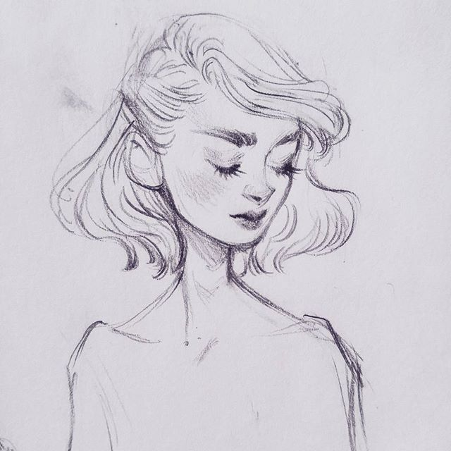 THERE'S A SMUDGE O.o * * * #art #drawing #sketch #sketchbook #sketchy #portrait #blackandwhite #monochrome #pencildrawing #pencil