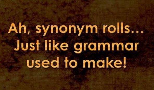 Synonym Rolls!