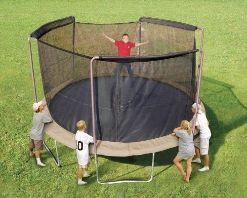 Trampoline Part Store 14' with 3 -Sleeves *Ultra* Trampoline Replacement Safety Net Only, Fits Only 3-arch/sleeve Enclosures with 14' Trampoline Frame Purchase Includes Free Shipping, Safety Net & Tie Downs by Trampoline Part Store. $55.99. Defect & this Warranty is Void if not purchased & shipped by Only Trampoline Part Store, no other vendor is Authorized by us to sell or make our Items. Please report any Violation of this policy to Amazon.    Very High Quality Tramp...