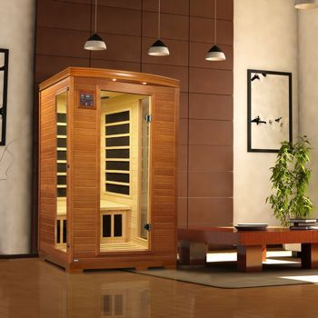 Costco: Dynamic Saunas 2-person Far Infrared Carbon Sauna
